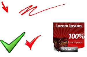 Hoog converterende graphics
